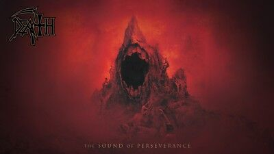 DEATH The Sound of Perseverance huge poster Spiritual Healing Leprosy Symbolic