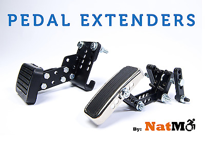 Driving Aids Auto Pedal Extenders Extensions by National Mobility Products