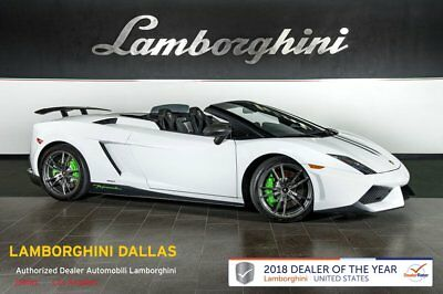 2011 Lamborghini Gallardo LP570-4 Performante  FACTORY CERTIFIED WARRANTY!+NAV+RR CAM+CARBON FIBER EXTERIOR