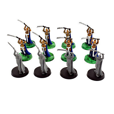 Warhammer LOTR Lord of the Rings High Elves Elf Warriors x 12