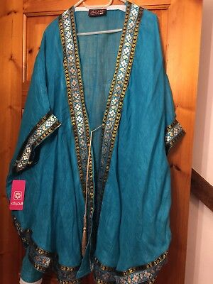 BNWT Party over layer Islamic Muslim Special Occasion Over Sized Short Length