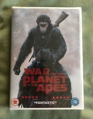 War For The Planet Of The Apes - DVD - Brand New & Sealed