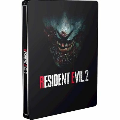 Resident Evil 2 REMAKE Steelbook ONLY Playstation 4 PS4 Xbox One Brand New