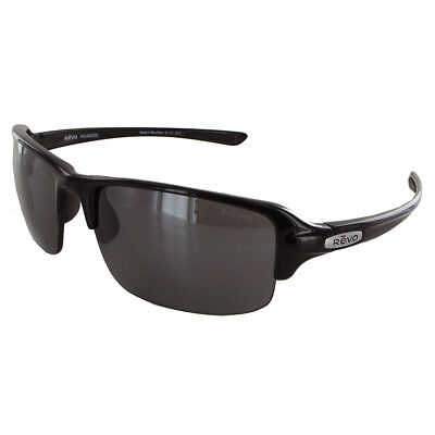 NEW Revo Abyss sunglasses Black Grey Polarized RE 4041 06 Jacket GENUINE RE4041