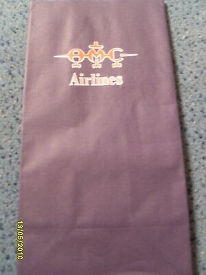 Kotztüte  Air Sickness bag Spuckbeutel AMC Airlines