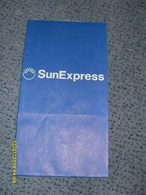 Kotztüte  Air Sickness bag Spuckbeutel SunExpress