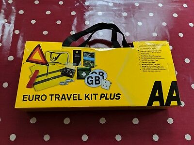 AA Euro Travel Kit PLUS for driving in France and Europe