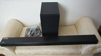 NEW LG SH3K 2.1 Channel 300W Sound Bar with Wireless Subwoofer FACTORY SEALED