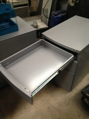 metal filing cabinet with key