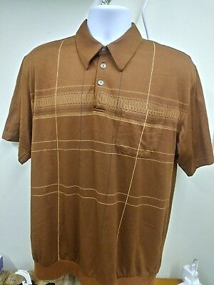 Vintage 1940s style Top. Catamaran. T shirt. Re-enactment. 38-40in chest. Brown
