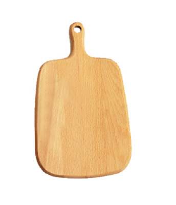Wooden Cutting Board Rectangle Gourmet Chopping Handle For Cooking Kitchen