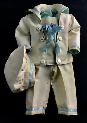 CG Doll Clothing 3 Piece Boy Doll Suit for 19in Antique Doll with Hat