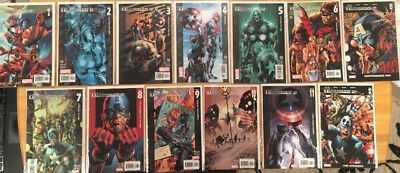 Marvel The Ultimates Volume 2 Issue #1-13 Complete Set 2004-2007 - Very Fine B&B