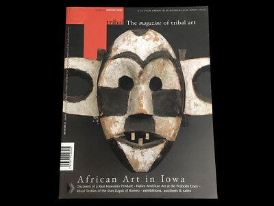 Tribal Art Magazine Winter 2002 African Art In Iowa  Rare Hawaiian Pendant Dayak