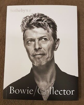 David Bowie  Collector  Sotheby's auction catalogue  10th & 11th November 2016