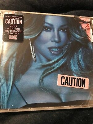 Mariah Carey CAUTION CD - BRAND NEW SEALED DISC