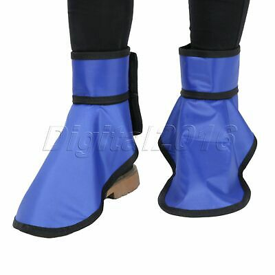 0.35mmpb X-Ray Protective Shoe Covers Hospital Laboratory Radiation Protection