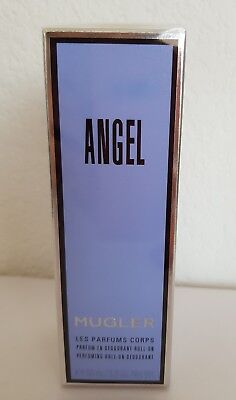 Mugler Angel Parfum En Déodorant Roll On 50ml Neuf