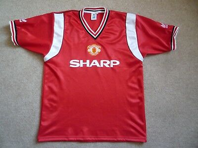 1984-86 Manchester United Football Shirt