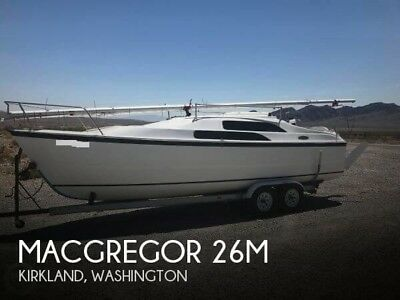 2008 Macgregor 26M Used LCD