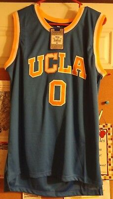 meet 943bc 6ac5c STICTHED LOGO RUSSELL Westbrook #0 UCLA College Basketball ...
