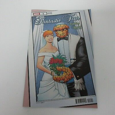 Marvel Comics Fantastic Four #1 Wedding Special Mike McKone Variant NEW
