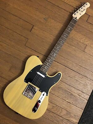Custom Wired Built Telecaster Butterscotch Blond Swamp Ash Look Fender Specs