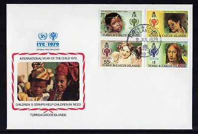Turks & Caicos Islands - 1979,  International Year of the Child FDC