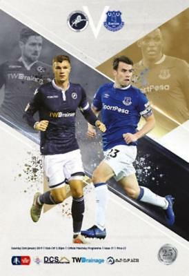 * 2018/19 - MILLWALL v EVERTON (FA CUP - 26th January 2019) *