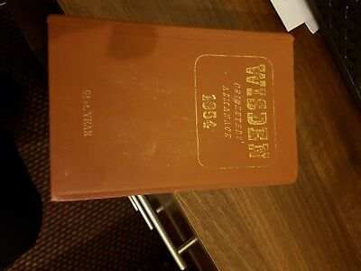 1954 Hardback Wisden Cricket Almanack Sought After In Good Condition great book.