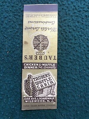 Vitage Matchbook Cover Lion Matchbook Company New York - Casino Grill