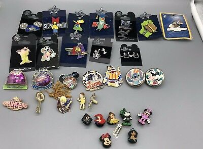 Disney Trading Pins Lot of 31 Pins  Authentic