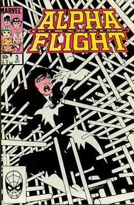 Alpha Flight #3 VF Marvel Comics John Byrne Oct 1983