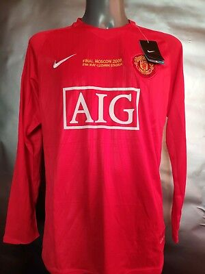 Manchester United Retro Champions League 2008 Final Football Shirt RONALDO 7