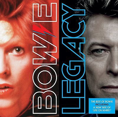 New. David Bowie - Legacy Cd (Greatest Hits). 20 Truly Brilliant Tracks. Bargain
