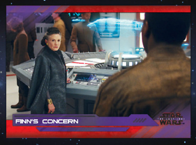 Topps Star Wars Card Trader The Last Jedi Select S2 Wave 7 Finn's Concern Purple