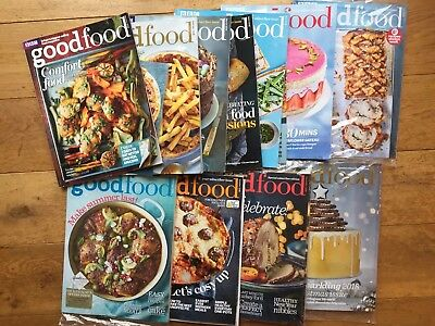 BBC GOOD FOOD MAGAZINE 2018 11 Magazines Some New Inc Christmas