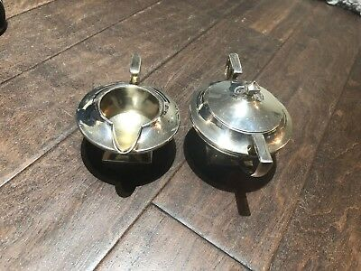 Rare Vintage Silver creamer and sugar kitchen ware 1881 Rogers