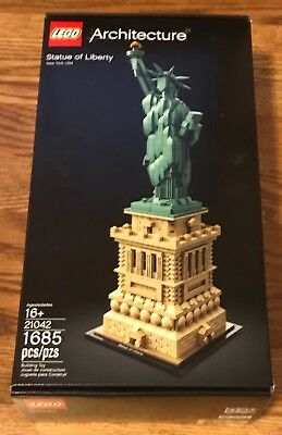 Lego Architecture 21042 Statue of Liberty BRAND NEW SEALED 1685 PCS