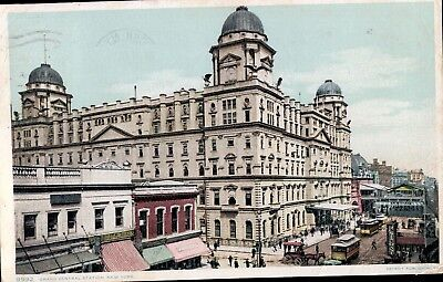 1910 Postcard of Grand Central Rail Station In New York City, New York
