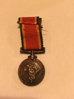 South African Ww2 Miniature Medal