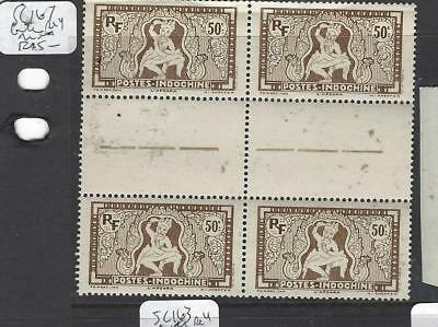 French Indochina (P0501B) Sc 167  Gutter Bl Of 4  Mnh