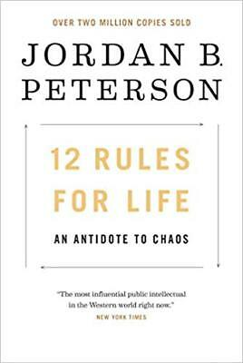 12 Rules for Life - An Antidote to Chaos #1 BestSeller ( eBook | pdF)
