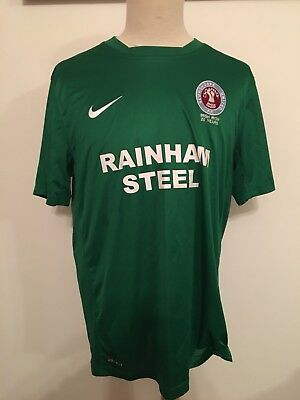 Scunthorpe United Nike 3rd Shirt. Irish Iron. Adults Large