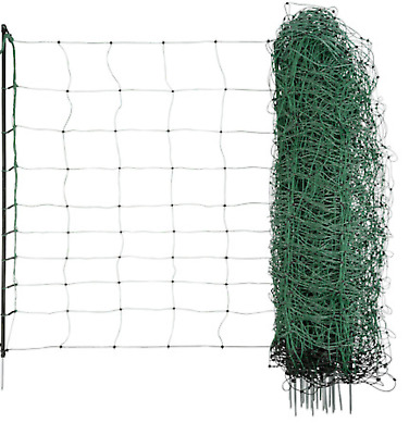 Green electric sheep netting chicken 50M Fencing Fence Mesh Net Posts Rope