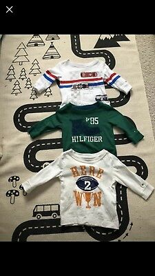 Tommy Hilfiger Baby Boys Tops Bundle Size 6-9 Months. (More 6 Months)