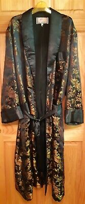 Vintage Solz Squirrel Smoking Robe Xxl