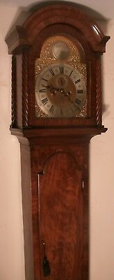 "Antique Mahogany Eight Day "" London "" Longcase / Grandfather Clock"