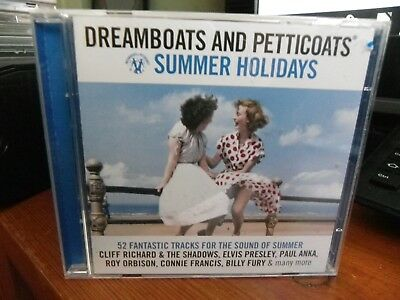 Various Artists - Dreamboats and Petticoats (Summer Holidays, 2010) Double CD