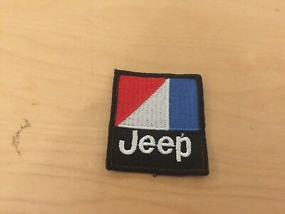 jeep  vintage patch,  new old stock, 1980's